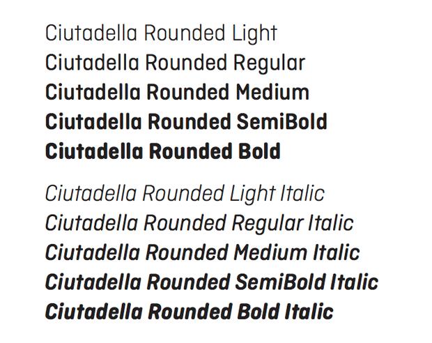 Ciutadella Rounded, tipografía de Eduardo Manso – Emtype