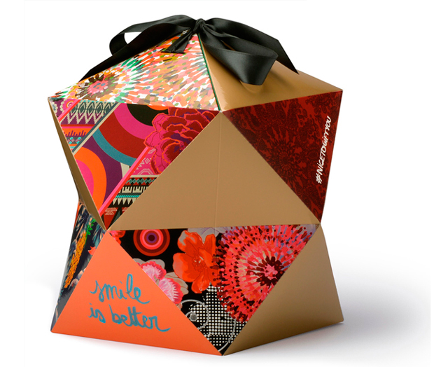 Nice to gift you! Un packaging regalo diseñado por Knock que respira el estilo Desigual