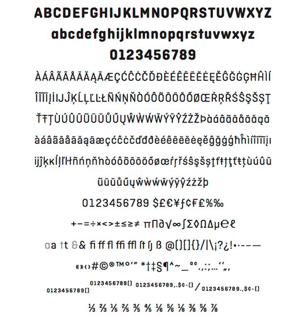 Ciutadella Rounded, tipografía de Emtype