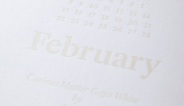 Febrero Happy White Year