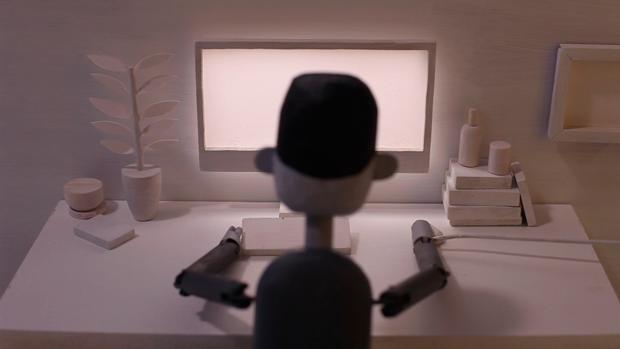 Disconnect, un corto animado sobre el hecho madurar de Doug Hindson