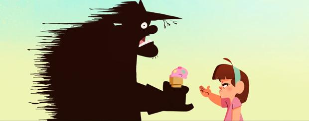 El Terror, un corto animado de Franco E.