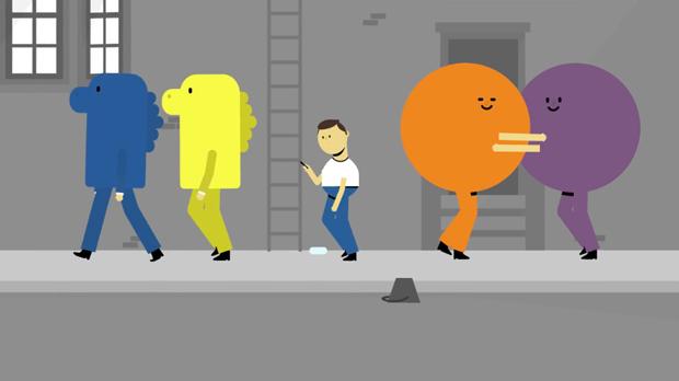 Mr-Selfie un corto animado de Weareseventeen
