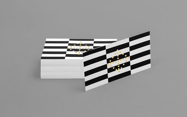 tarjetas de visita diseño de la agencia de branding Anagrama
