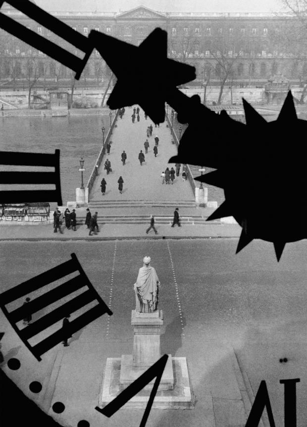 El Pont des Arts, París, 1929-32, fotografía de André Kertész