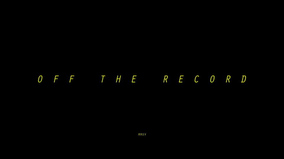 Off the Record, un documental de Laura Sans