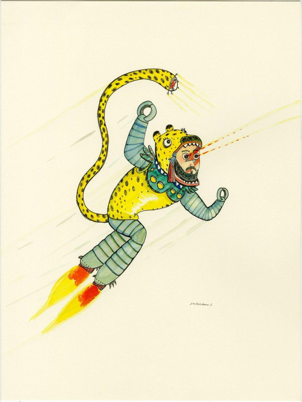 Juan Pablo Baene y la cotidianidad del absurdo – Ilustración de la exposición Nihil desperandum
