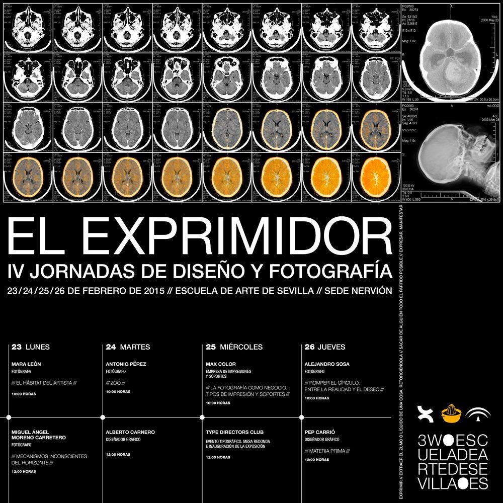 El Exprimidor. IV Jornadas de Diseño y Fotografía en Sevilla
