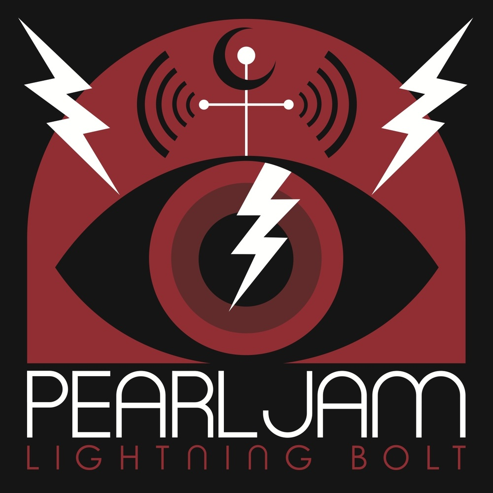 portada del ábum Lightning Bolt de la banda Pearl Jam ilustrada por Don Pendleton