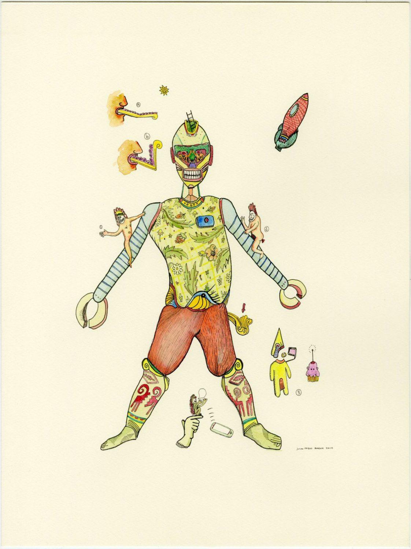 Juan Pablo Baene y la cotidianidad del absurdo –– Ilustración de la exposición Nihil desperandum