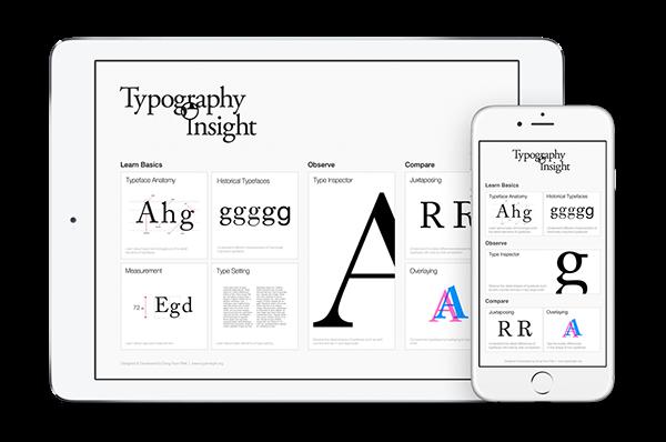 Typography Insight v3.0. La app definitiva para aprender tipografía en el iPad