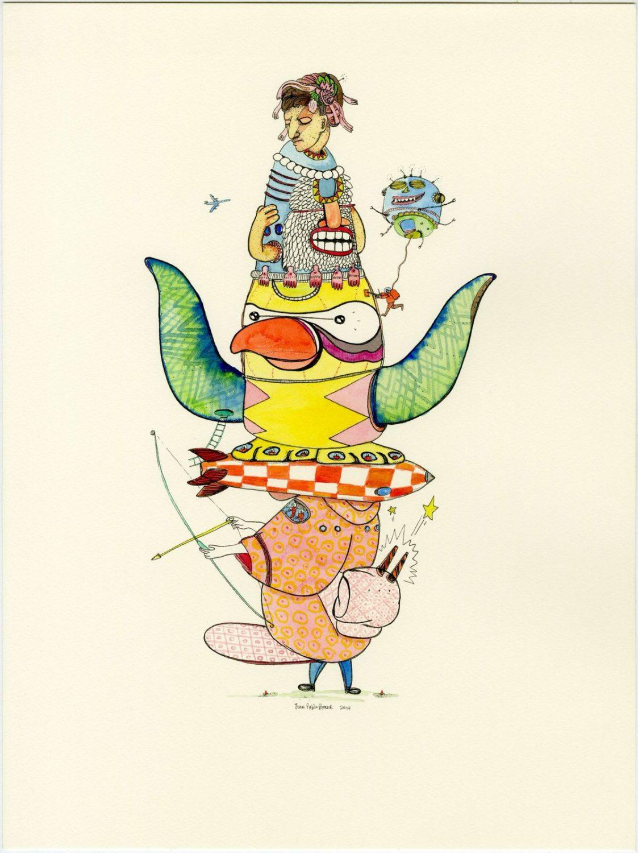Juan Pablo Baene y la cotidianidad del absurdo – – Ilustración de la exposición Nihil desperandum