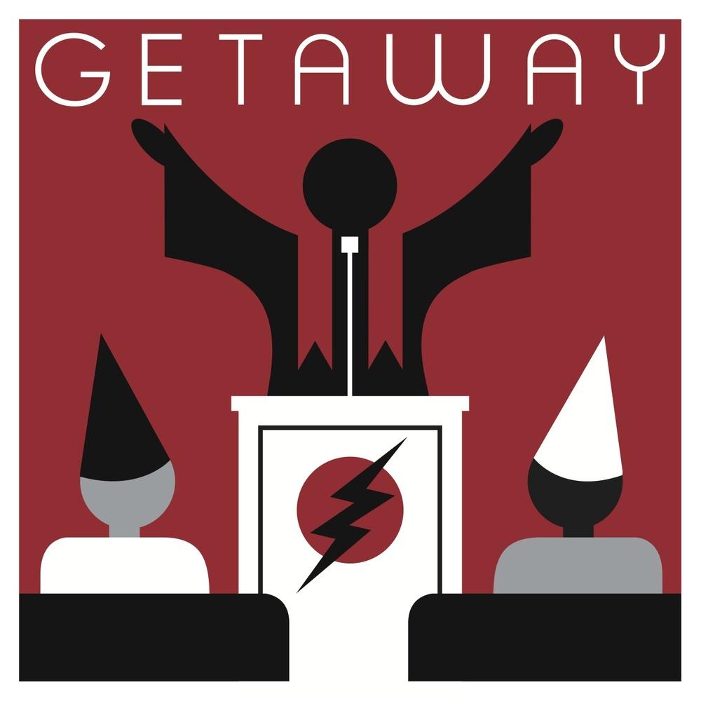 Ilustración del tema Getaway realizada por Don Pendleton Premio Grammy al mejor packaging por Lightning Bolt de Pearl Jam