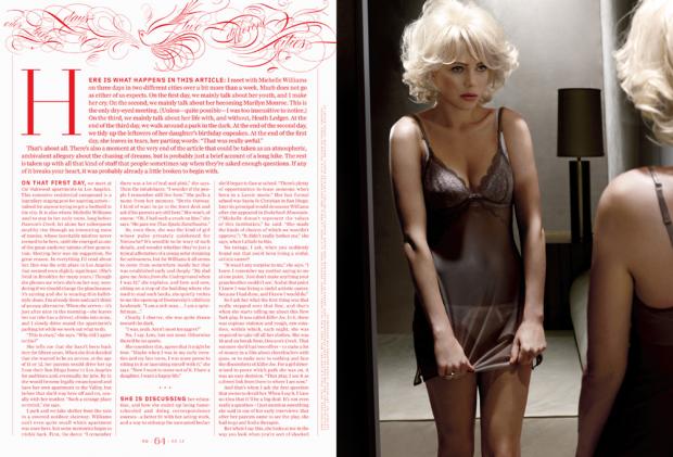 Chelsea Cardinal y la dirección de arte en GQ – Reportaje de Michelle Williams