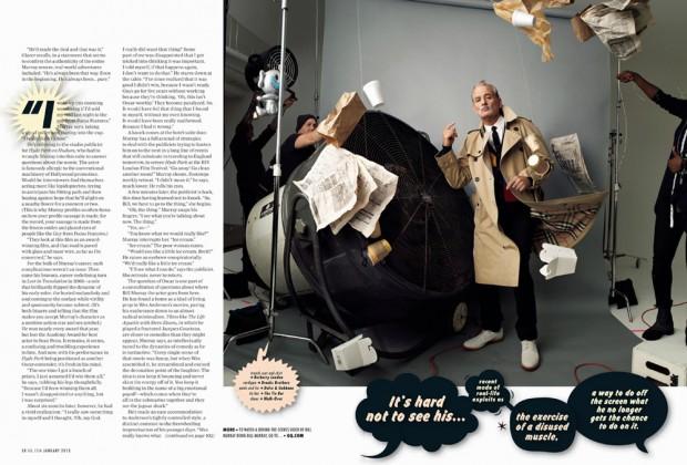 Chelsea Cardinal y la dirección de arte en GQ – Bill Murray