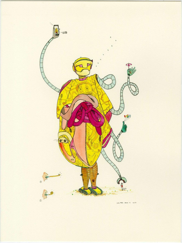 Juan Pablo Baene y la cotidianidad del absurdo