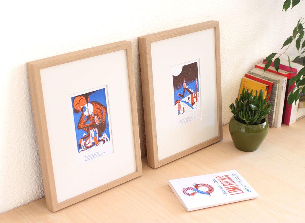Obsolete letterpress – Textos raros bellamente ilustrados en letterpress por Marta Monteiro