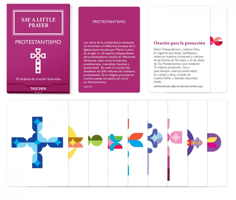 Say a Little Prayer. 10 religiones, 100 plegarias, 100 iconos – protestantismo
