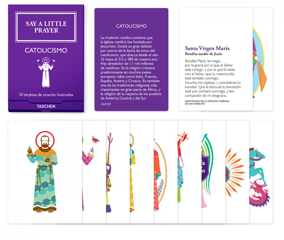 Say a Little Prayer. 10 religiones, 100 plegarias, 100 iconos – catolicismo