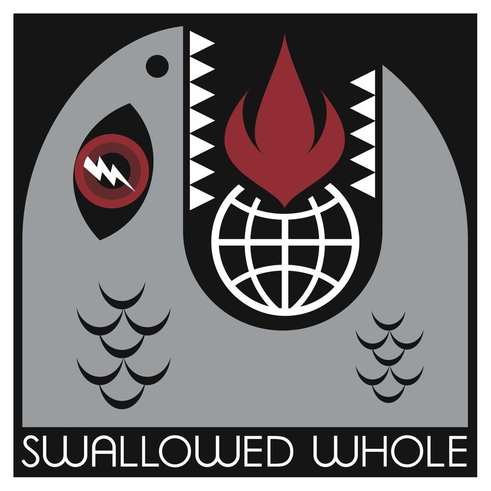 Swallowed Whole ilustración del álbum Lightning Bolt, de Pearl Jam