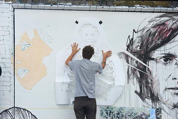 Pentagram y el activismo colaborativo por la defensa de los derechos humanos en Witness Wall