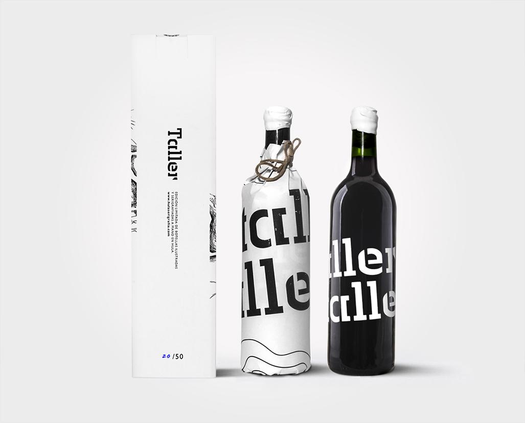 Taller by Hula, packaging, ilustración y serigrafía en edición limitada