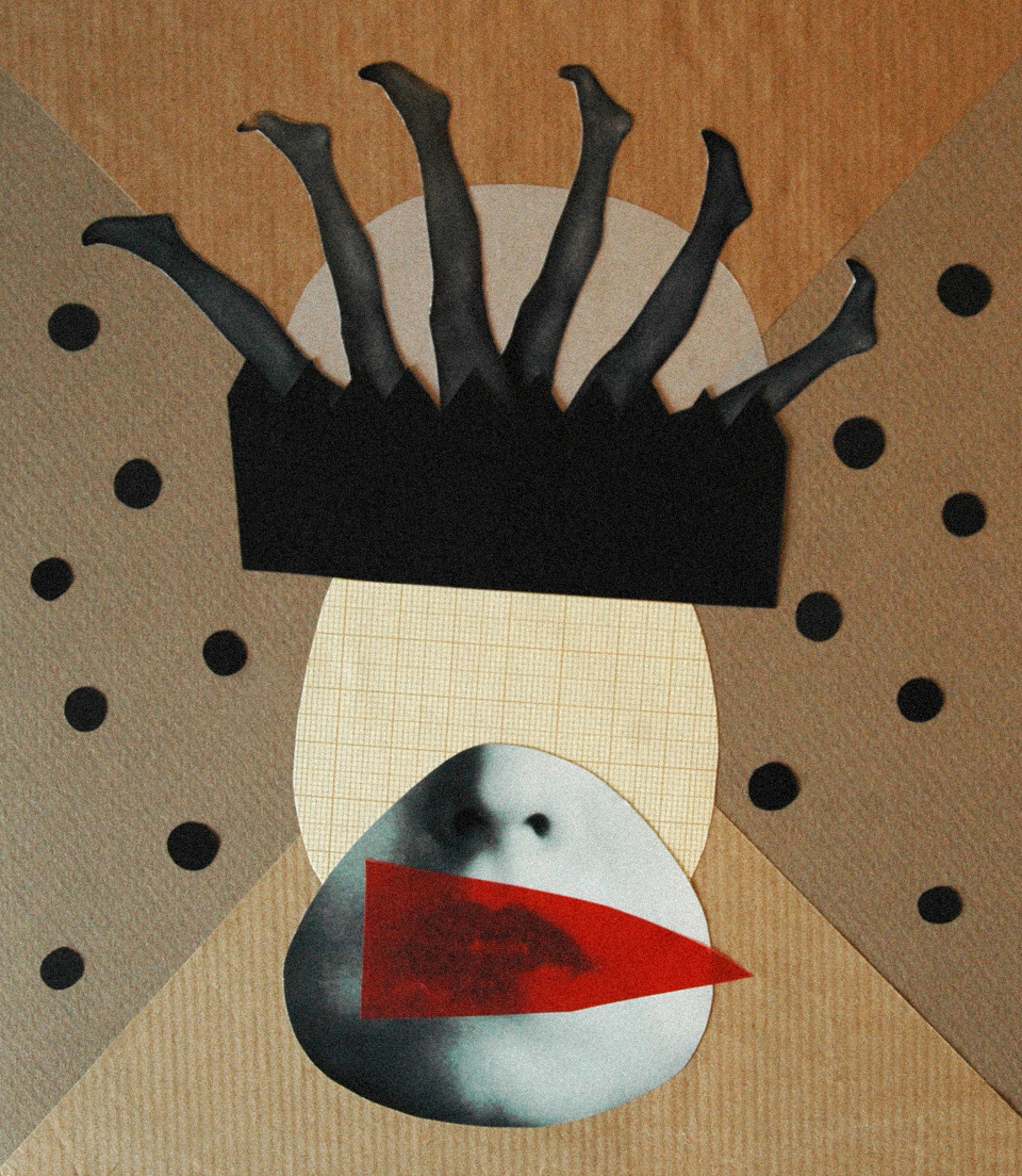 Los collages del subconsciente de Helena Pallarés, ilustración This Royal Dance