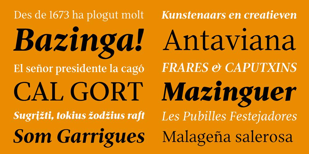 Patau presenta Pobla, tipografía híbrida que saca el mejor rendimiento en las peores condiciones