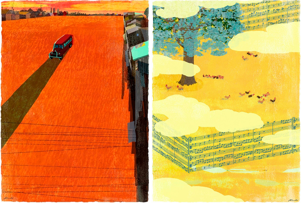 Ilustraciones de Tastsuro