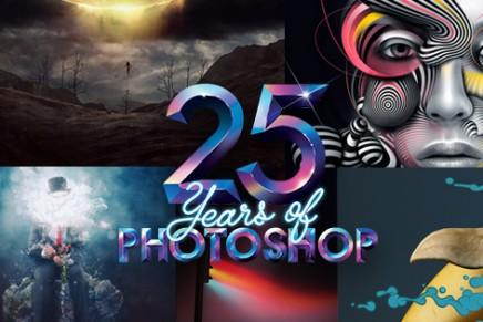 Photoshop cumple 25 años