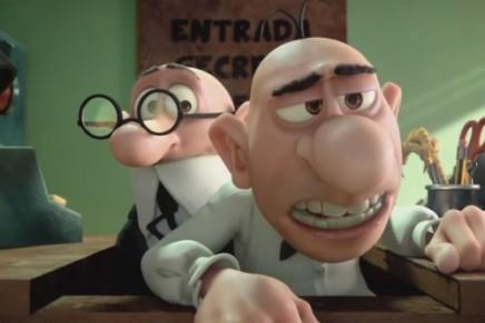 Goya 2015 a la mejor película de animación y mejor guión adaptado para Mortadelo y Filemón contra Jimmy el Cachondo