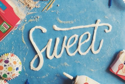 Becca Clason, food & lettering