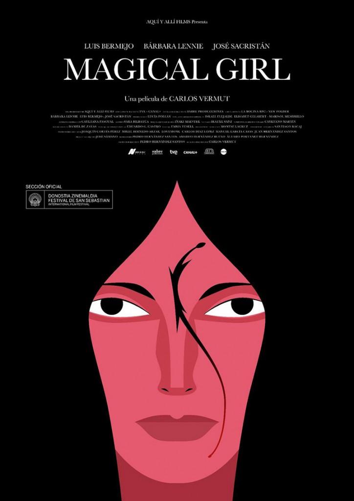 Magical Girl, cartel de la película diseñado por Carlos Vermut