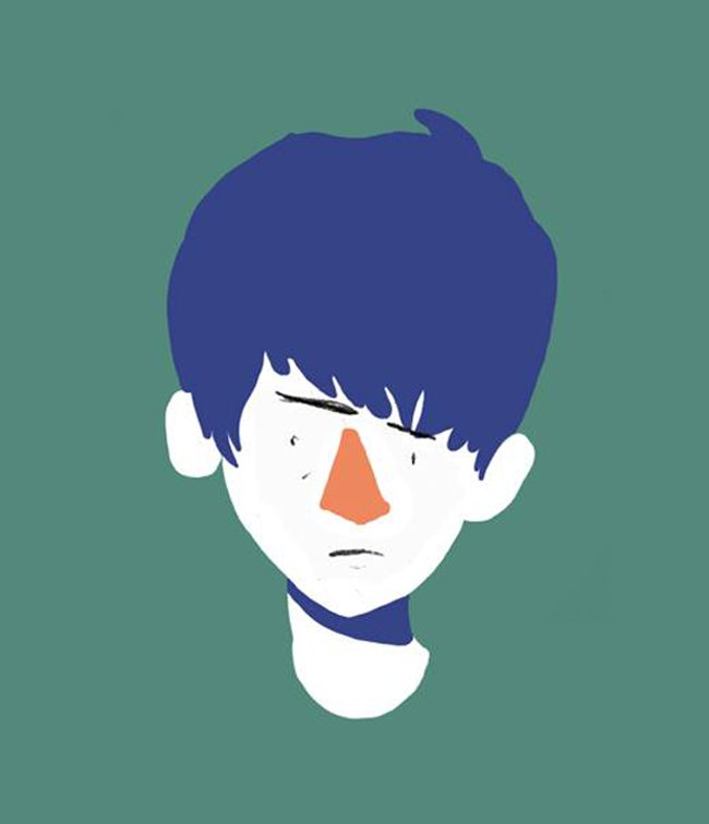 Mikko - ilustración retrato