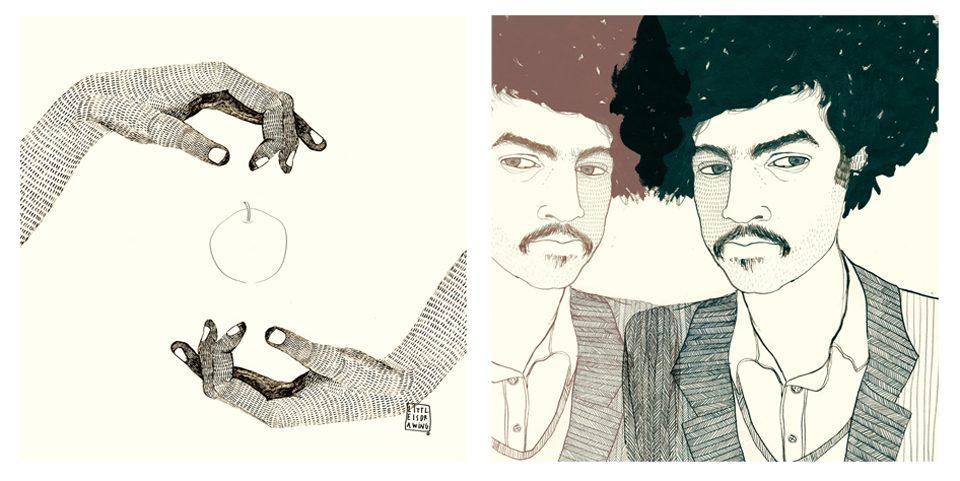 Ilustraciones para Alex Ferreira de LittleIsDrawing