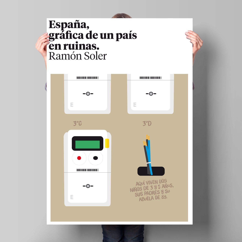 España, gráfica de un país en ruinas, por Ramón Soler