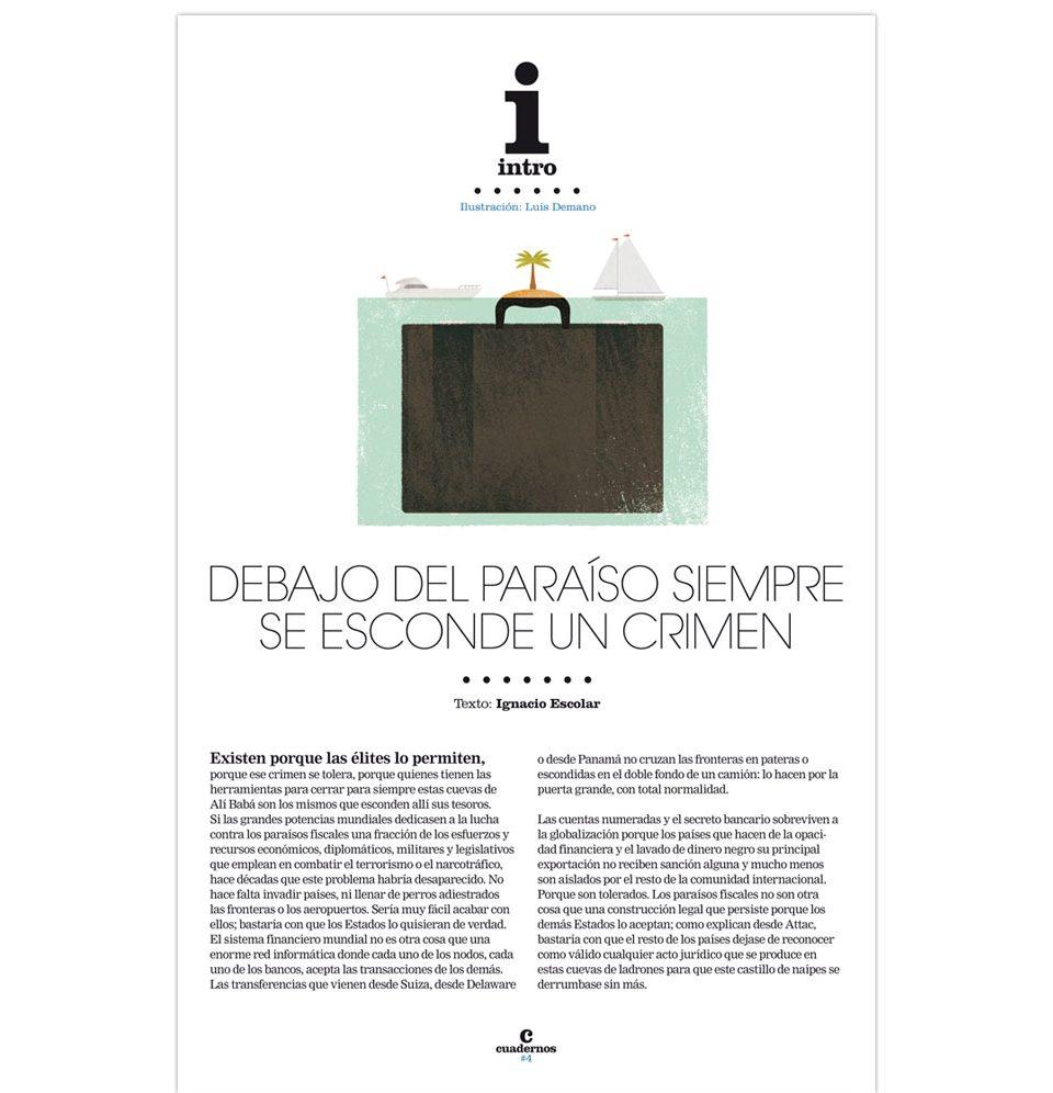Luis Demano, ilustración editorial eldiario.es