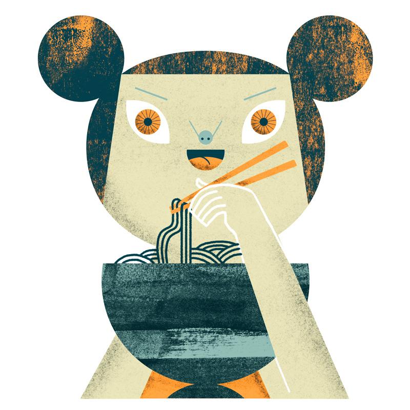 Malota, Mar Hernández, ilustración japo