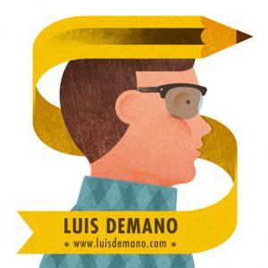 Luis Demano retrato ilustrado