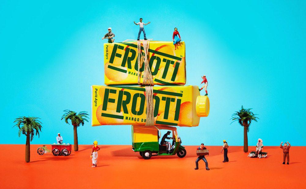 Sagmeister & Walsh y Pentagram unidos por el mango de Frooti