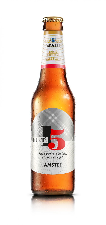 Amstel edición especial Fallas 2015 – diseño con caloret fallero –