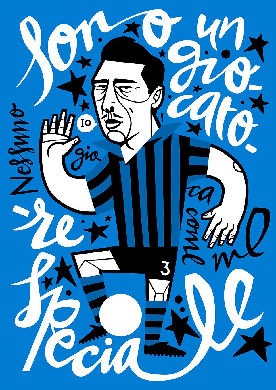 Giocatore, ilustración de Jorge Lawerta