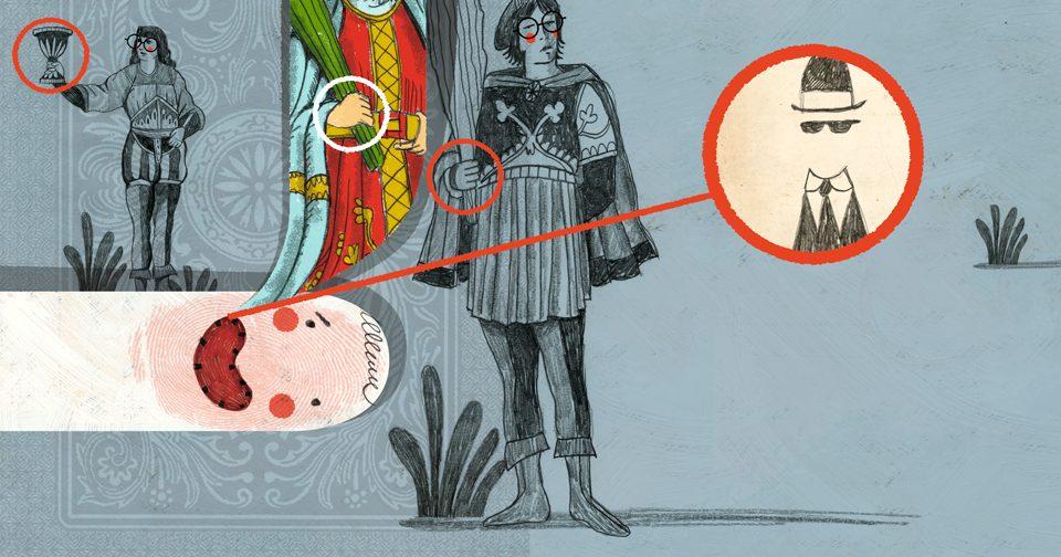 ilustración de Julio Antonio Blasco, Sr. López