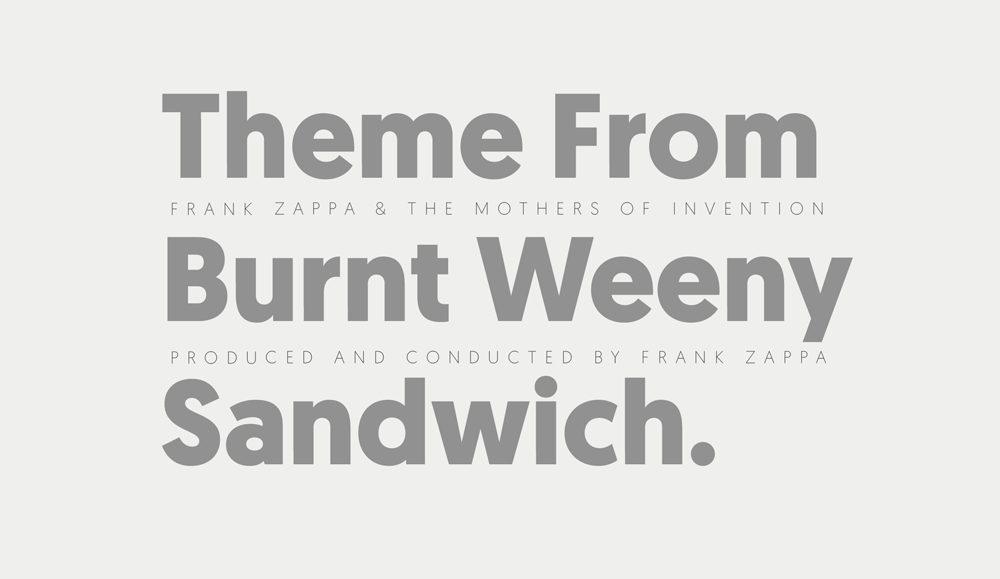 Tipografía sans serif contemporánea, de aspecto limpio y elegante de Atipo