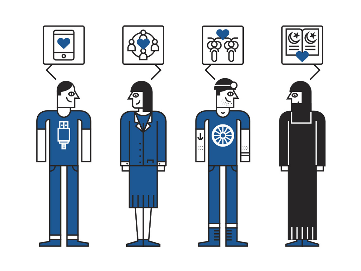 Reinventing the Company in the Digital Age – diseño editorial e infografías para BBVA OpenMind