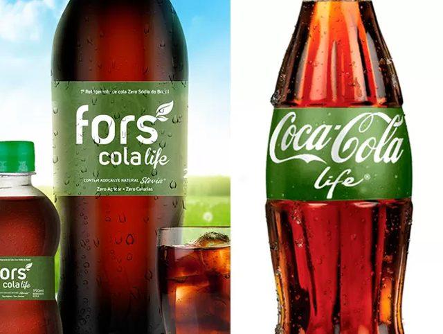 Coca-Cola pierde el juicio por plagio contra la brasileña Fors Cola Life