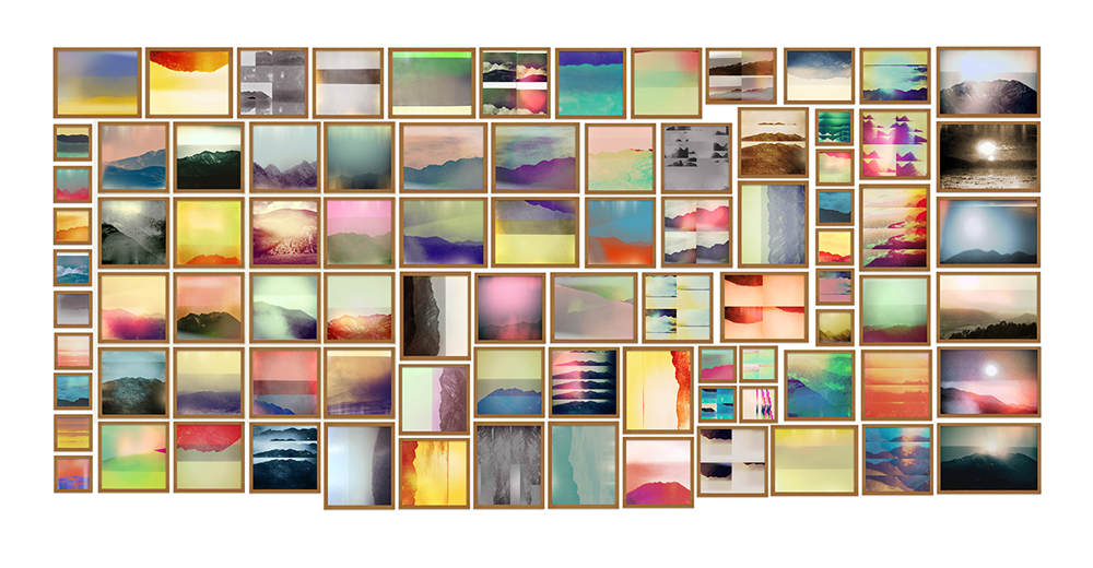 Penelope Umbrico reinventa la fotografía de paisajes en la era app