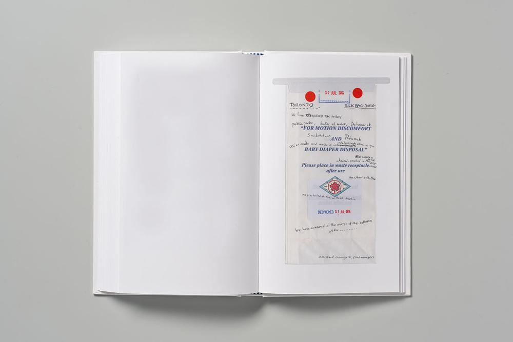 The Sick Bag Song. El libro de Nick Cave con diseño de Pentagram