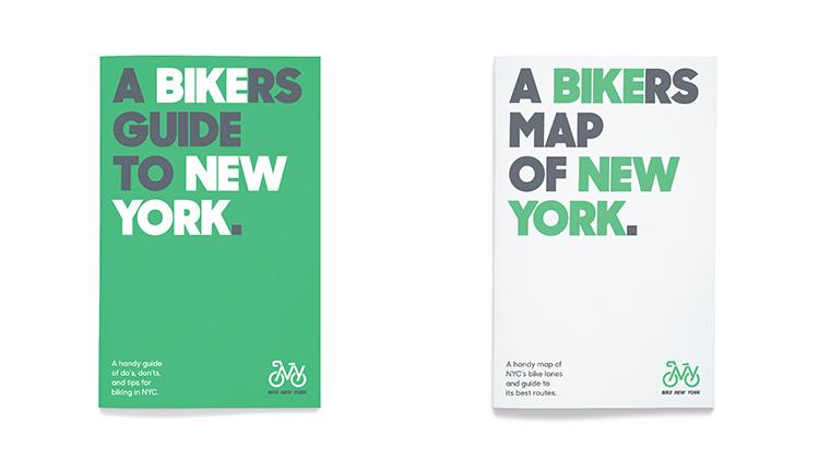 Bike New York, la identidad sobre dos ruedas de Emily Oberman, de Pentagram