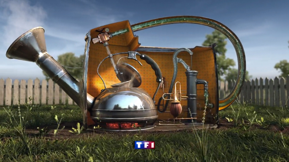 bumper 3D para TF1 por Naked